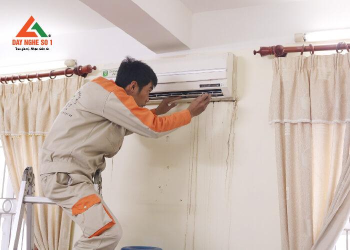Đào tạo sửa chữa điều hòa tại trung tâm dạy nghề số 1