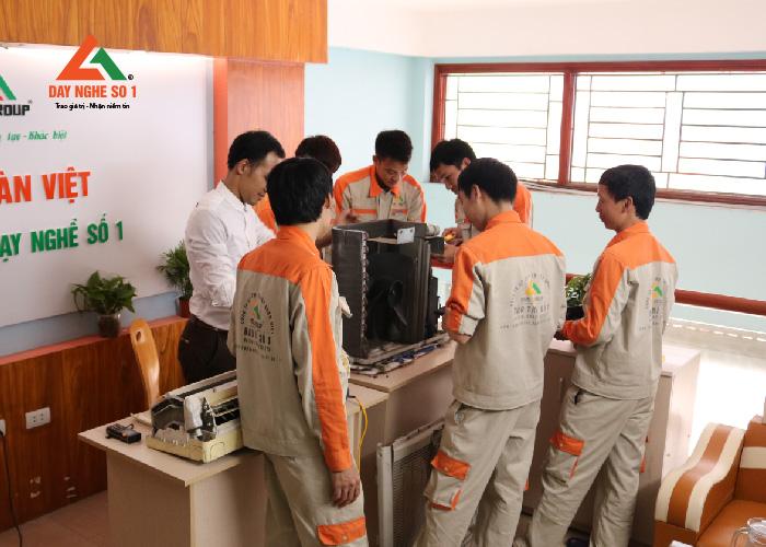 Khóa học nghề điện lạnh tại Trung tâm dạy nghề số 1